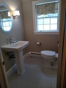Basic needs construction and painting company llc for Examples of bathroom remodels
